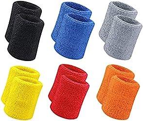 Wrist Support Brilliant 1piece Sport Wristband Brace Wrap Bandage Gym Running Sports Safety Wrist Support Badminton Sweat Band Sports Accessories