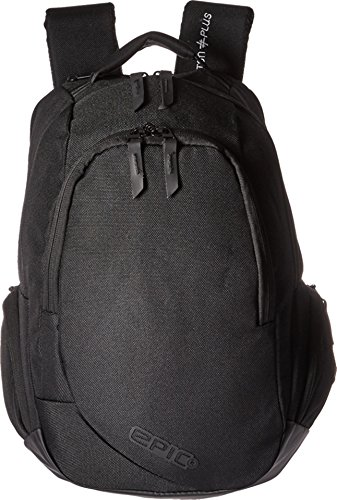 EPIC Travelgear Unisex Proton Plus Mini Pod Backpack Black One Size -