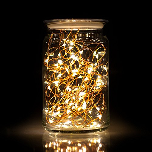 Fairy Moon Led String Lights Tiny Battery Pack : ECOLIGHT 10-Pack LED String Lights Battery Operated 6.6ft/2m - Import It All