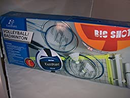 EastPoint Sports Volleyball/Badminton Set