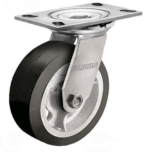 Albion 62MH08201SL Heavy Duty Swivel Caster with Lock, 8