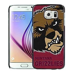 NCAA Montana Grizzlies 5 Black Popular Custom Design Samsung Galaxy S6 G9200 Phone Case