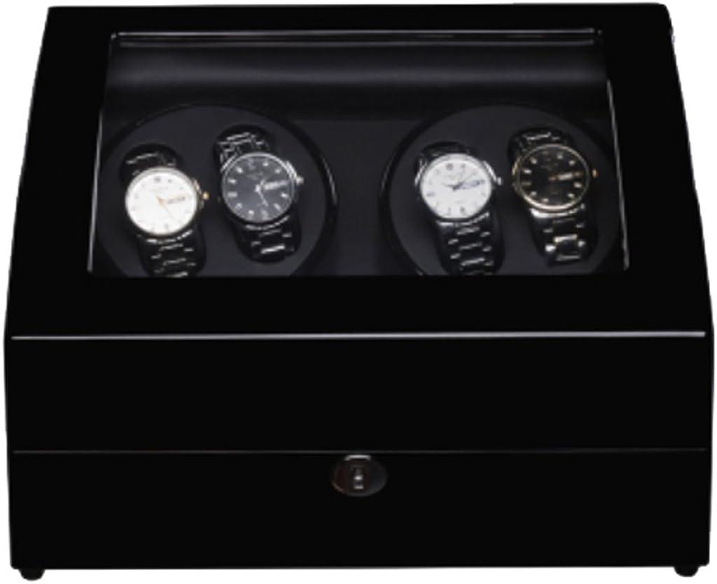 Caja Relojes Automaticos Watch Winder Shakers Relojes mecánicos Cajas de Columpios automáticas Cajas de Relojes Mesas de Sacudida eléctricas Relojes de Cadena Tablas de torneado