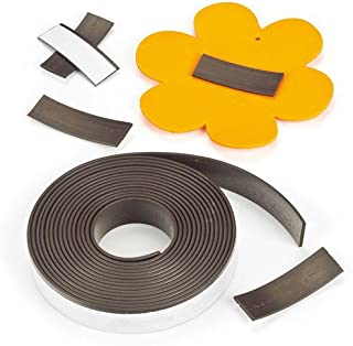 Baker Ross Self-Adhesive Magnetic Tape (2.5m Per Reel) Long Self-Adhesive Magnetic Strip