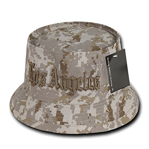 Nothing Nowhere Los Angeles Desert Dig Fisherman Hat, Dessert Digital, Large/X-Large