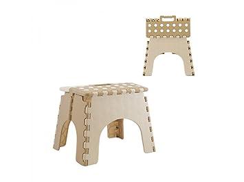 Girm® hx805461 sedia pieghevole a pois per bambini sgabello con