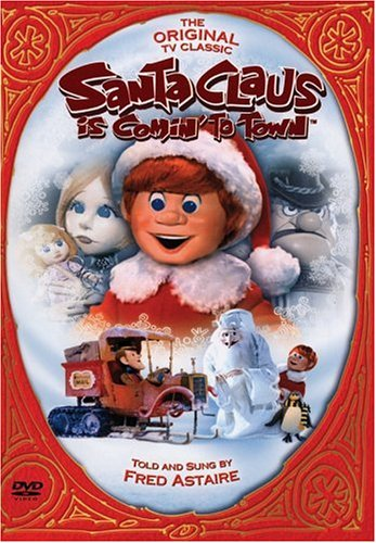 amazoncom santa claus is comin to town fred astaire mickey rooney keenan wynn paul frees joan gardner robie lester andrea sacino dina lynn - Classic Christmas Movies