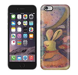 Brand New iphone 5c Defender Case For Iphone (A-drawing-by-Vladimir-Stankovic-of-a-narwhal-and-a-bunny-giving-a-kid-a-cup-of-tea)