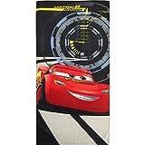 Disney Pixar Cars 3 Lightning McQueen Beach towel 28 inches X 58 inches