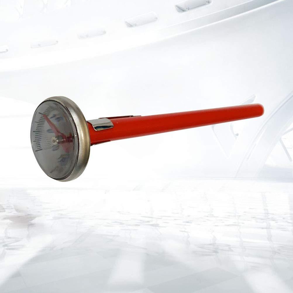 LIOOBO 2 St/ück Auto Klimaanlage Test Thermometer Auto Innenthermometer Rot
