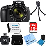 Nikon COOLPIX P900 16MP 83x Super Zoom Digital Camera Full HD Video Black 16GB Bundle – Includes Camera, Card Reader, Gadget Bag, 16GB Memory Card, Battery, Mini Tripod and More Review