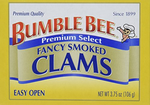 Clam Dip Recipe (Bumble Bee Premium Select Fancy Smoked Clams, 3.75 Ounce Cans, 12 Count)