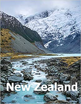 New Zealand Coffee Table Photography Travel Picture Book Album Of
