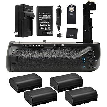 Amazon com : Vello BG-C12 Battery Grip for Canon 7D Mark II : Camera