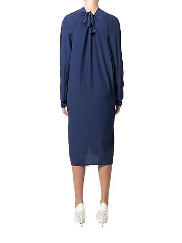 Marni Vestito Donna Abmaz32a00ta08900b80 Acetato Blu