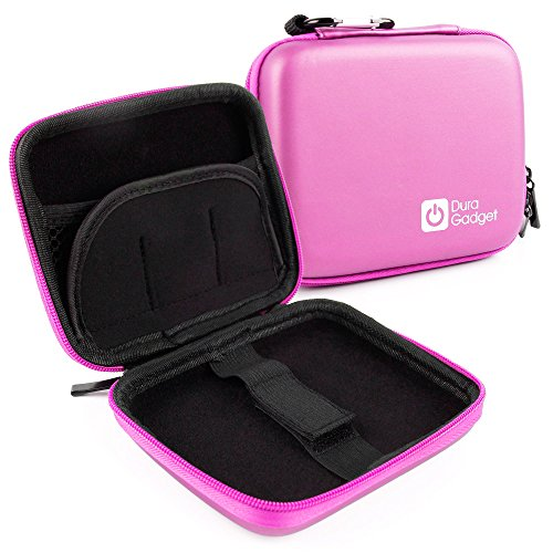 Digi Printer - DURAGADGET Exclusive Hard Shell EVA Box-Style Case in Pink for the Lifeprint LP001-6 2x3 Photo and Video Printer