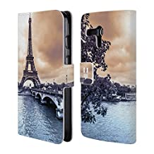 Head Case Designs City Skylines Leather Book Wallet Case Cover For Motorola Phones