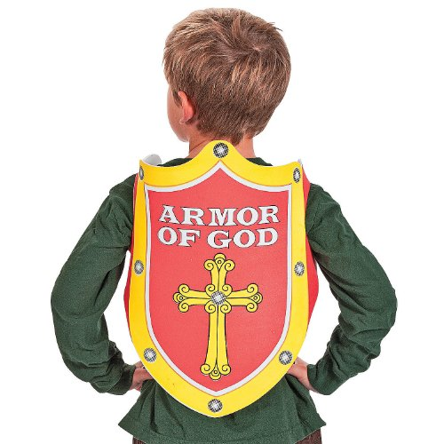 Armor Of God For Kids Costume (Armor Of God Cape - Costume Accessories & Capes, Robes & Gowns)