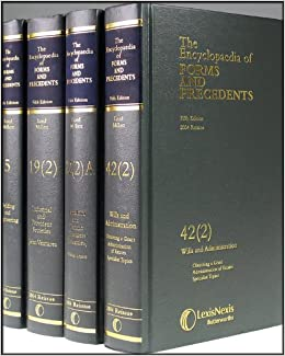 Image result for the encyclopedia of forms and precedents uk