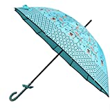 GKRY Fashion Art Umbrella/Windproof Travel Umbrellas/Folding Umbrella/for Business and Travels/SPF 51+ SUN RAIN Umbrella/RAIN Umbrella The ultra fine umbrella blue sky.