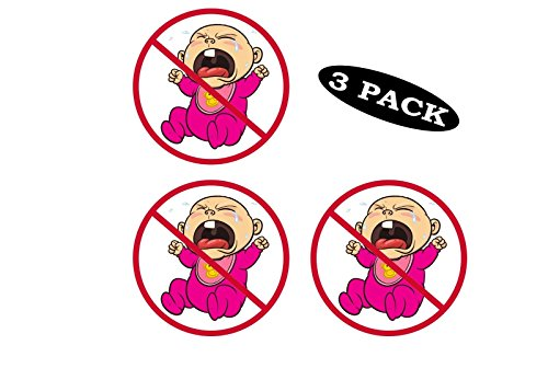 Rogue River Tactical 3 Pack No Cry Babies Whiners Funny Work Hard Hat Biker Helmet Stickers Decals Toolbox 2