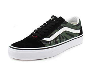 Vans Mens Tie Dye Old Skool MultiBlack Sneaker 8