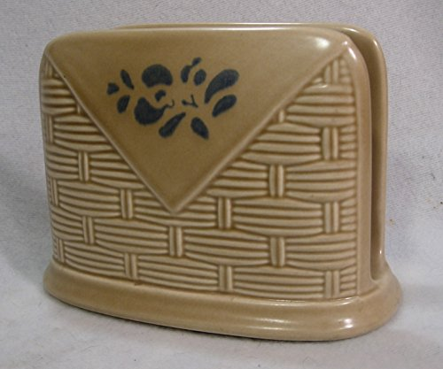 Pfaltzgraff Folk Art Pattern Napkin Holder - Pfaltzgraff Folk Art