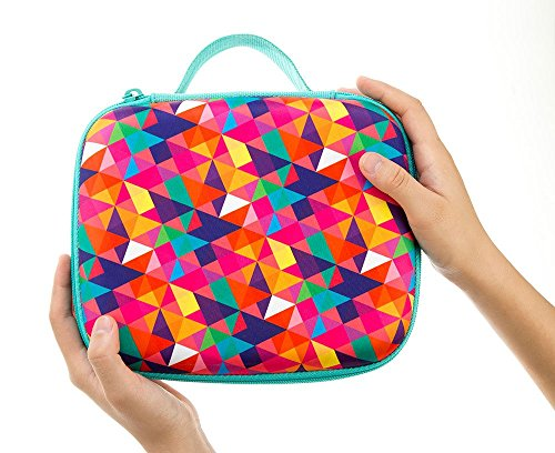 ZIPIT Colorz Lunch Box, Colorful Triangles Photo #4