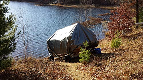Winter Cover System for 20' Pontoon Boat