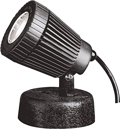 Kichler 15191BK Underwater 1Light 12V Black Material Not Painted