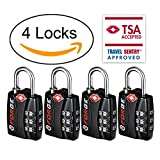 New Forge TSA Lock - Open Alert Indicator, Easy Read Dials, Alloy Body,