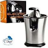 Stainless Steel Electric Citrus Juicer: Compact Lemon, Lime or...