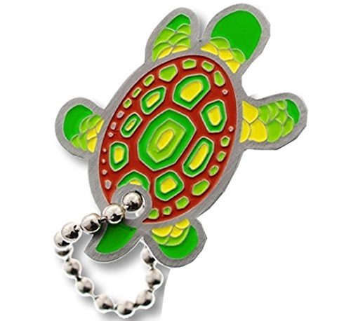 Geocaching Travel Tag by Coinsan Dpins Turtle Schildkröte Geocaching Travel Bug Gift, Trackable,