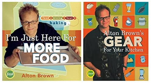 i m just here for more food alton brown s gear for your kitchen two rh amazon com alton brown essential kitchen gear alton brown gear for your kitchen list