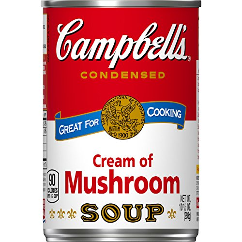 Campbells Cream - Campbell's Condensed Soup, Cream of Mushroom, 10.5 Ounce