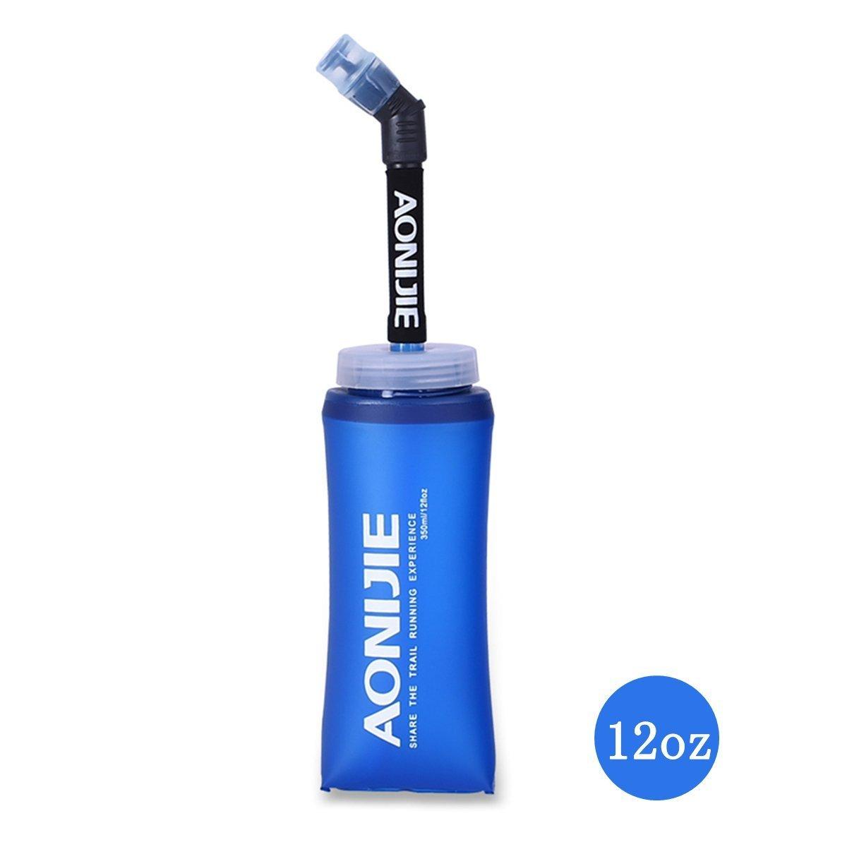 【激安アウトレット!】 piixyソフト水ボトル 20oz、TpuソフトFolding Water 12oz Bag – with Straw CollapsibleのフラスコHydration Pack – 理想的なライトと実行のBPA free.ハイキングサイクリング登山 12oz and 20oz B07DK7X7PT, Fairytail:3f35a1ea --- a0267596.xsph.ru