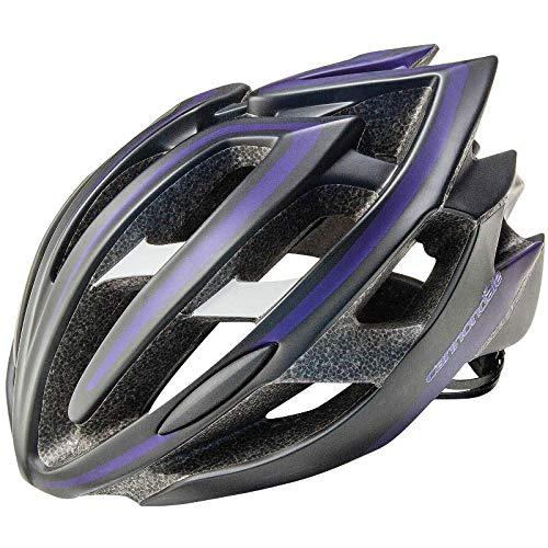 Cannondale 2014 Teramo Bicycle Helmet, Black/Purple - S/M