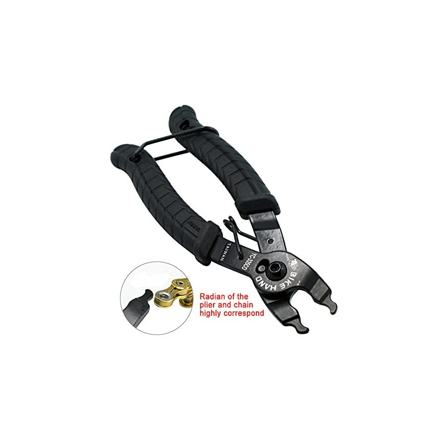 Bikehand Chain Plier For Missing Link Open And Close Remover Connector Tool