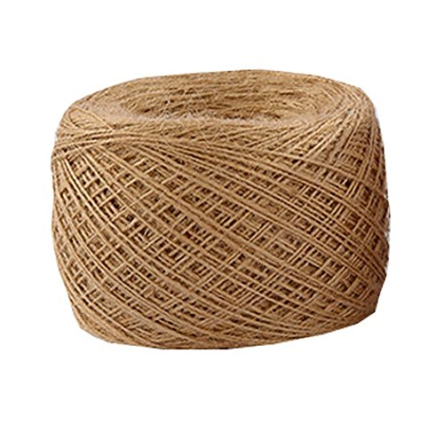 Natural Jute Rope 500 Meters,1640 ft,1mm Hemp Rope For Arts Crafts Gift Wrapping by DRAGON SONIC