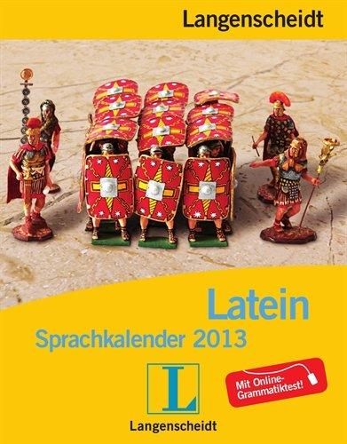 Langenscheidt Sprachkalender 2013 Latein - Abreißkalender