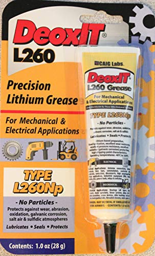(Deoxit L260Np Mechanical and Electrical Grease - 28g Squeeze)