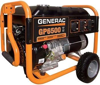Generac GP6500 6500 Watt Gasoline Portable Generator