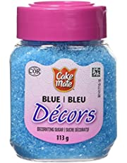 Cake Mate, Decorating with Ease, Decors Sugar, Blue, 113g