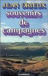 Souvenirs de campagnes par Orieux
