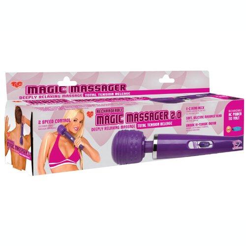 Adam & Eve Rechargeable Magic Massager 2.0 (110V) ()