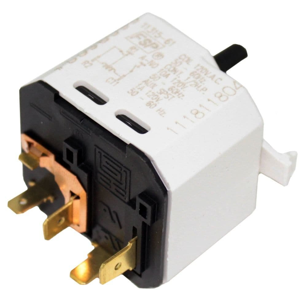 Whirlpool W3398095 Dryer Push-to-Start Switch Genuine Original Equipment Manufacturer (OEM) Part