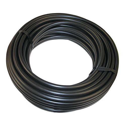 Vinyl Tubing - Size : 1/4'' - Length : 1000' - Color : Black- 3 pack (Part 3275) by Drip Depot