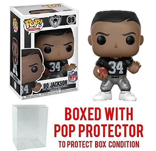 NFL Legends Bo Jackson Raiders Home Pop! Vinyl Figure and