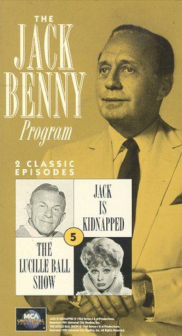 The Jack Benny Program No. 5 (Jack is Kidnapped/The Lucille Ball Show) [VHS] (Meyer Bells Of Is)