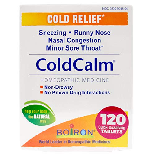Boiron Coldcalm Tablets for